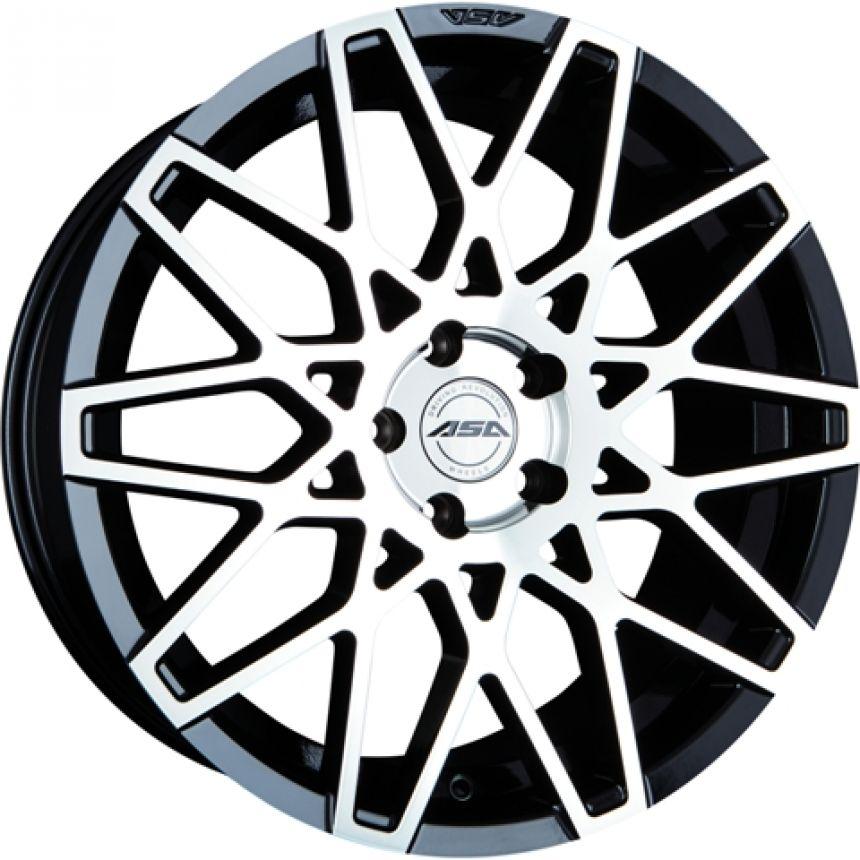 GT4 Black machined face CB: 72.5 8.5x18