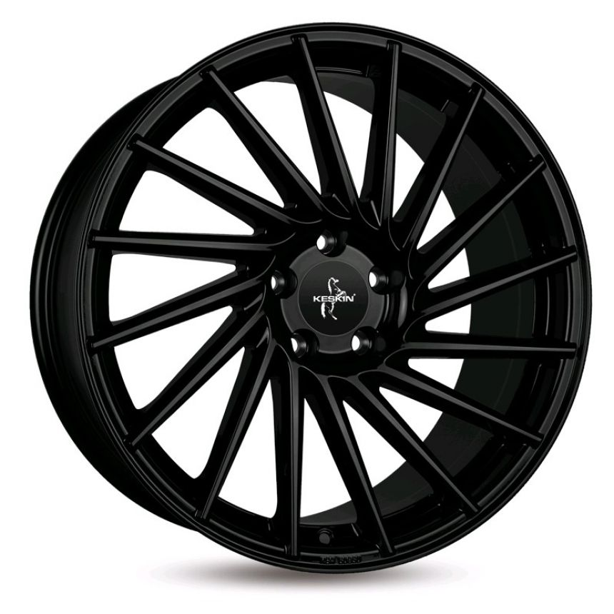 KT17 Matt Black Painted 8.5x19