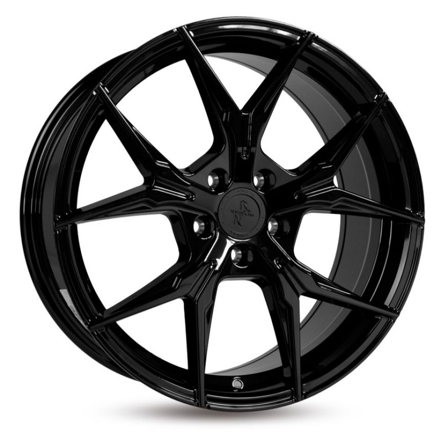 KT19 Black Painted 8x18