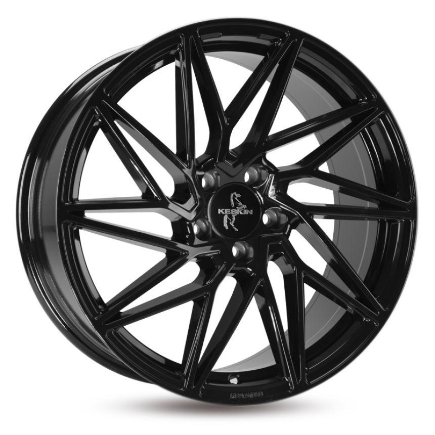 KT20 Black Painted 8.5x19