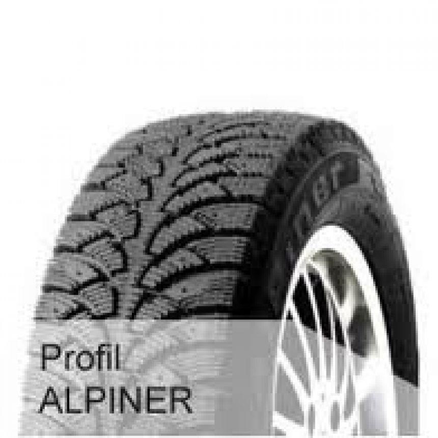 Alpiner -pinnoitettu- 185/60-15 T