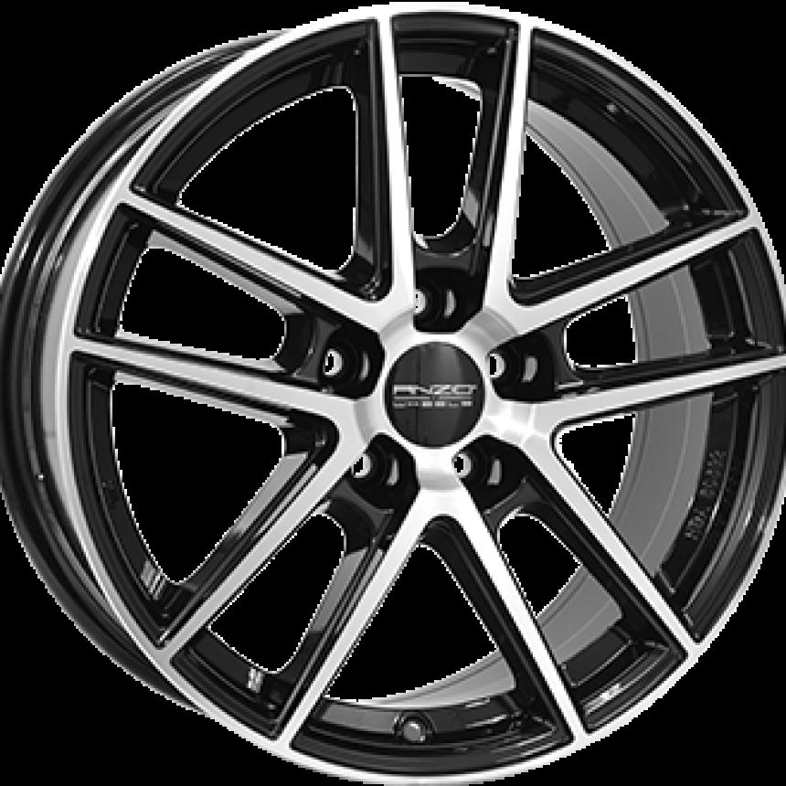 SPLIT Gloss Black / Polished 8.0x18